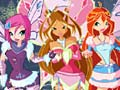 Hra Winx Happy Year Rotate Puzzle