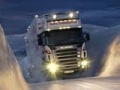 Game Winter truck jigsaw