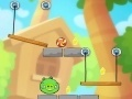 Spēle Cut the Rope - bad pig