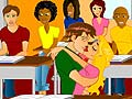 Игра First Classroom Kissing