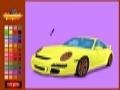 Spiel Fast white grand car coloring