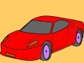 Game Best and fast car coloring