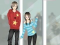 Spiel Anime Couple Dress Up Game