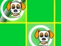 Spiel Уappy Doggy tic-tac-toe