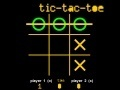 Spiel Tic-Tac-Toe. 1 & 2 Player