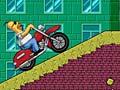 Игра Homer Motorbike