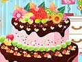 Game Fruit Strawberry Cake