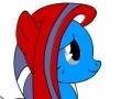 Graceful Pony Coloring ליּפש