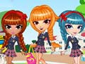 Игра Cutie Trend School Girl Group
