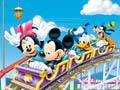 Игра Mickey in Rollercoaster - Set the blocks
