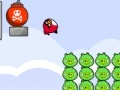 Jogo Angry Birds explosion pigs