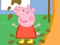 Game Jigsaw Little Pig and dirty linen