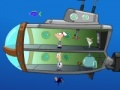 Igra Phineas and Ferb in a submarine