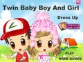 Игра Twin Baby Boy and Girl