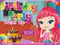 Game Birthday Party Dress Up