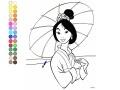 Jogo Mulan coloring