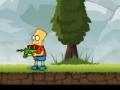 Spiel Bart Simpson Rambo Dwarf