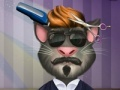 Ойын Talking Tom. Hair salon