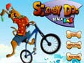 Игра Scooby Doo beach BMX
