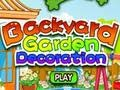 Игра Backyard Garden Decoration