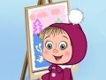 Παιχνίδι Masha and the Bear: Who painted?