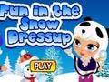 Игра Fun in the Snow Dress Up