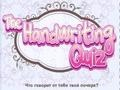 Игра The Handwriting Quiz