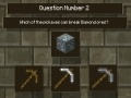 Jeu Minecraft 0.5 - MC Quiz