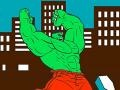 Hulk: Cartoon Coloring קחשמ