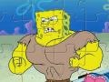 Muscle Spongebob jigsaw  קחשמ