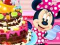 Permainan Minnie Mouse Chocolate Cake