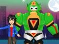 Big Hero 6: Baymax and Hamada Dress Up קחשמ