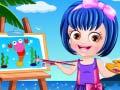 Žaidimas Baby Hazel Artist Dressup