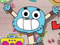 Cluiche The amazing world of Gumball Manic Canteen