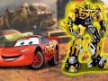 Žaidimas Cars VS Transformers