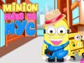 Spel Minion Flies To NYC