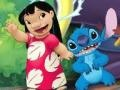 Игра Lilo and Stitch: Coloring Page
