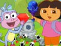 Spiel Dora Boots Forest Find Treasure