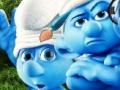 The Smurfs Characters Coloring קחשמ