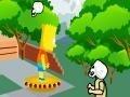 Игра Bart Simpson Zombie