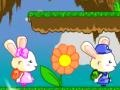 Game Rabbits and bubbles