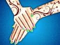 Gioco Indian Wedding Girl Manicure and Pedicure