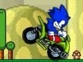 Игра Sonic ATV in Mario Land