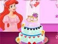 Ariel Cooking Wedding Cake קחשמ