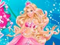 Игра Barbie The Pearl Princess Dress Up