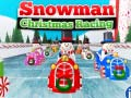 Mäng Snowman Christmas Racing
