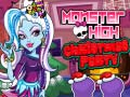Monster High Christmas Party קחשמ