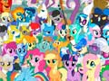 My Little Pony Explore Ponyville קחשמ