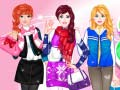 Игра Dress Up Winter Friends