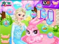 Juego Frozen Elsa Pet Care